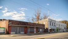 Railroad Corner Boulevard Street